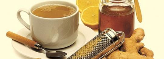 Чай с имбирем и перцем — вприкуску с пряником ;)