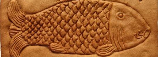 Пряничные доски в форме рыб