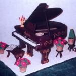Пряник пианино