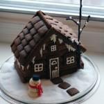 Грустный пряничный дом