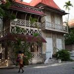 Гаити, реальный пряничный дом