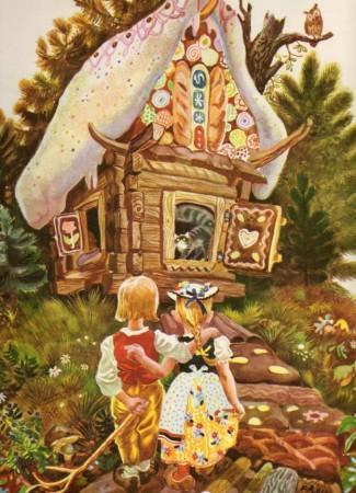 Сказка про пряничные домики