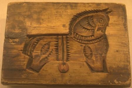 Коник. Пряничная доска, первая половина 19 века