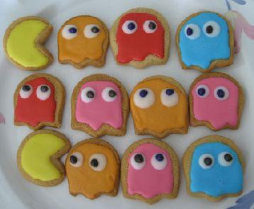 Печеньки Pacman