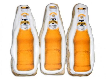 Пряники в форме пивных бутылок