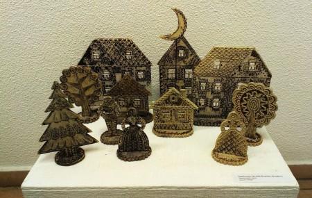 Пряничные домики из глины