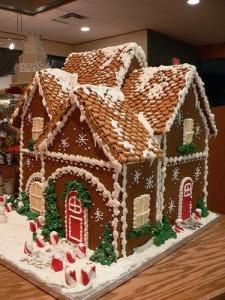Пряничный дом в американском стиле
