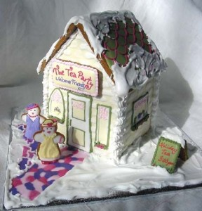 Зимний пряничный дом