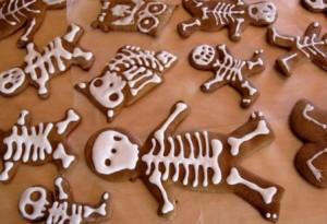 Пряник скелетон