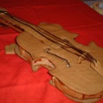 Пряник-скрипка