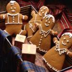 Рождественские имбирные человечки-пряники