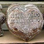 Тульский пряник в форме сердца