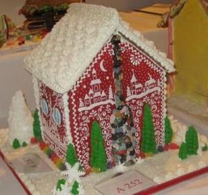 Шведский пряничный домик