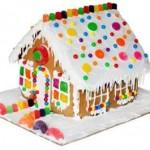 Пряничный дом с глазурью