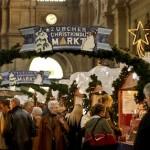 Рождественская ярмарка в Цюрихе