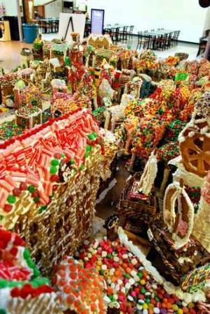 Выставка пряников Gingerbread Lane в 2011 году