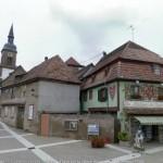 Эльзасский музей пряников, фасад, вид сбоку