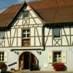 Здание музея пряников в Эльзасе, Франция