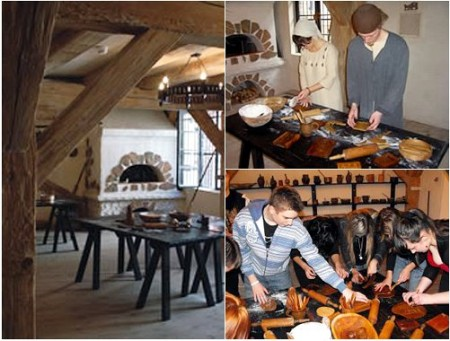 Интерьер музея пряников в Торуни